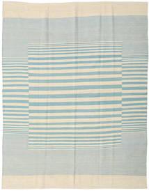 Ćilim Moderni Sag 181X230 Autentični  Moderni Ručno Uzlan Bež/Tirkizno Plava (Vuna, Indija)