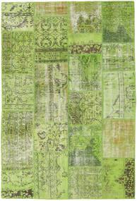 Patchwork Sag 161X238 Autentični  Moderni Ručno Uzlan Svjetlozelena/Maslinasto Zelena (Vuna, Turska)