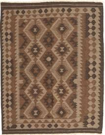 Ćilim Maimane Sag 148X187 Autentični  Orijentalni Ručno Tkani Smeđa/Tamnosmeđa (Vuna, Afganistan)