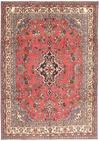 Hamadan Patine Sag 203X298 Autentični Orijentalni Ručno Uzlan Svjetloružičasta/Tamnocrvena (Vuna, Perzija/Iran)