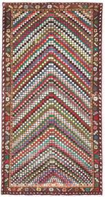 Bakhtiari Patine Sag 100X198 Autentični Orijentalni Ručno Uzlan Bež/Tamnosmeđa (Vuna, Perzija/Iran)