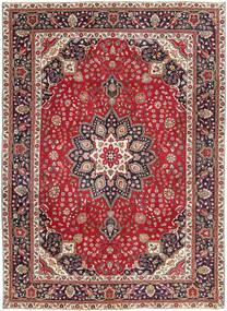 Tabriz Patine Sag 250X344 Autentični Orijentalni Ručno Uzlan Tamnocrvena/Tamnosmeđa Veliki (Vuna, Perzija/Iran)