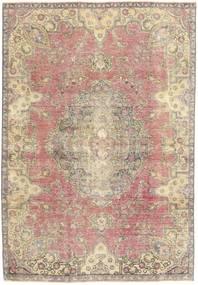 Obojeni Vintage Sag 184X264 Autentični Moderni Ručno Uzlan Bež/Svjetlosiva (Vuna, Perzija/Iran)