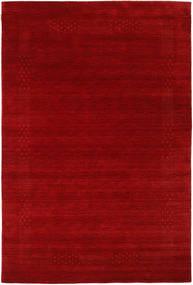 Loribaf Loom Beta - Crvena Sag 190X290 Moderni Tamnocrvena/Hrđavo Crvena (Vuna, Indija)