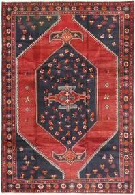 Klardasht Sag 200X295 Autentični Orijentalni Ručno Uzlan Tamnocrvena/Crna (Vuna, Perzija/Iran)