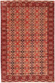 Turkaman Patine Sag 210X316 Autentični Orijentalni Ručno Uzlan Tamnocrvena (Vuna, Perzija/Iran)