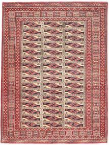 Turkaman Patine Sag 131X177 Autentični Orijentalni Ručno Uzlan Tamnocrvena/Smeđa (Vuna, Perzija/Iran)