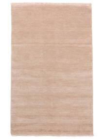 Handloom Fringes - Soft_Rose Sag 160X230 Moderni Svjetloružičasta/Bež (Vuna, Indija)