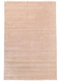 Handloom Fringes - Soft_Rose Sag 200X300 Moderni Svjetloružičasta/Bež (Vuna, Indija)