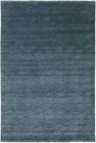 Handloom Fringes - Deep_Petrol Sag 200X300 Moderni Plava/Tamnoplava (Vuna, Indija)