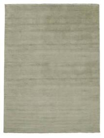 Handloom Fringes - Soft_Teal Sag 200X300 Moderni Svjetlozelena/Tamnosiva (Vuna, Indija)