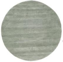 Handloom - Soft_Teal Sag Ø 150 Moderni Okrugli Svjetlosiva/Svjetlozelena (Vuna, Indija)