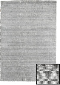 Bamboo Grass - Black_ Siva Sag 120X180 Moderni Svjetlosiva/Tamnosiva (Vuna/Bambusova Svila, Turska)