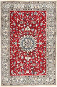 Nain Sag 196X297 Autentični  Orijentalni Ručno Uzlan Svjetlosiva/Smeđa (Vuna, Perzija/Iran)