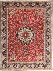 Tabriz Sag 292X393 Autentični  Orijentalni Ručno Uzlan Tamnocrvena/Hrđavo Crvena Veliki (Vuna, Perzija/Iran)