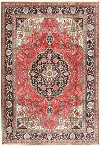 Tabriz Sag 200X287 Autentični  Orijentalni Ručno Uzlan Tamnocrvena/Smeđa (Vuna, Perzija/Iran)