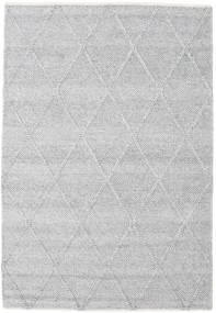 Svea - Srebrno Siva Sag 140X200 Autentični  Moderni Ručno Tkani Svjetlosiva/Bijela/Krem (Vuna, Indija)