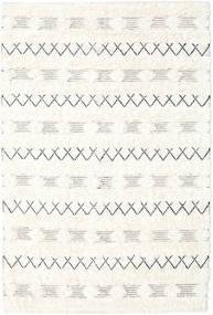 Shedir - White Sag 160X230 Autentični  Moderni Ručno Tkani Bež/Bijela/Krem (Vuna, Indija)