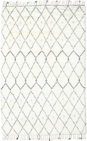 Sauda - Prirodni Siva Sag 200X300 Autentični  Moderni Ručno Uzlan Bež/Bijela/Krem (Vuna, Indija)