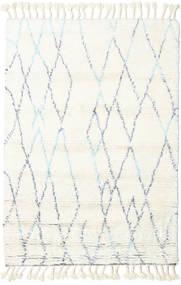 Rana - Prirodni/Plava Sag 160X230 Autentični Moderni Ručno Uzlan Bež/Bijela/Krem (Vuna, Indija)