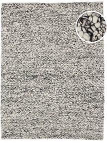 Bubbles - Crna Melange Siva Sag 170X240 Moderni Svjetlosiva/Tamnosiva (Vuna, Indija)