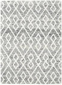 Hudson - Crna Melange Crna Sag 170X240 Moderni Svjetlosiva/Bež (Vuna, Indija)