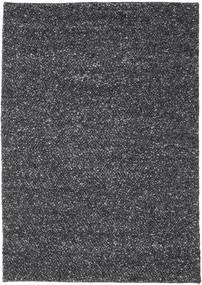 Bubbles - Crna Melange Crna Sag 170X240 Moderni Tamnosiva (Vuna, Indija)