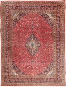 Mashad Sag 295X390 Autentični Orijentalni Ručno Uzlan Tamnocrvena/Svjetlosmeđa Veliki (Vuna, Perzija/Iran)