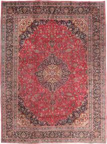Mashad Sag 295X395 Autentični Orijentalni Ručno Uzlan Tamnocrvena/Smeđa Veliki (Vuna, Perzija/Iran)