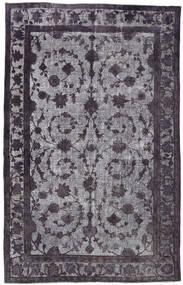 Obojeni Vintage Relief Sag 206X320 Autentični Moderni Ručno Uzlan Crna/Svjetlosiva (Vuna, Turska)