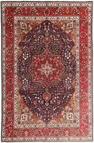 Tabriz Sag 207X315 Autentični  Orijentalni Ručno Uzlan Tamnocrvena/Tamnosmeđa (Vuna, Perzija/Iran)