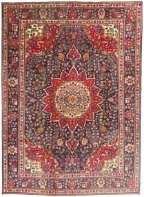 Tabriz Sag 212X292 Autentični  Orijentalni Ručno Uzlan Tamnocrvena/Tamnosmeđa (Vuna, Perzija/Iran)