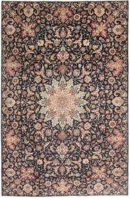 Najafabad Patine Sag 235X360 Autentični Orijentalni Ručno Uzlan Tamnosiva/Tamnocrvena (Vuna, Perzija/Iran)
