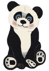 Panda Baby Sag 100X160 Moderni Tamnosiva/Bež (Vuna, Indija)