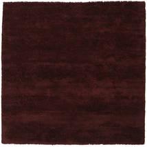 New York - Wine Sag 250X250 Moderni Kvadratni Tamnosmeđa Veliki (Vuna, Indija)