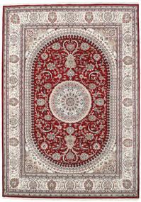 Nain Indo Sag 253X357 Autentični  Orijentalni Ručno Uzlan Svjetlosiva/Tamnocrvena Veliki ( Indija)