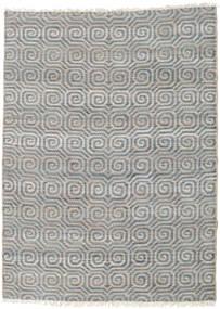 Vanjski Tepih Thar Jute Sag 170X240 Autentični  Moderni Ručno Tkani Svjetlosiva/Plava (Juteni Tepisi Indija)