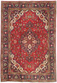 Tabriz Sag 202X298 Autentični  Orijentalni Ručno Uzlan Tamnocrvena/Tamnosmeđa (Vuna, Perzija/Iran)