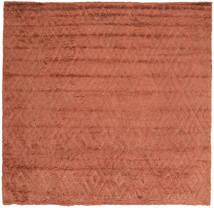 Soho Soft - Terracotta Sag 250X250 Moderni Kvadratni Grimizno Crvena Veliki (Vuna, Indija)
