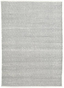 Alva - White/Crna Sag 160X230 Autentični  Moderni Ručno Tkani Svjetlosiva/Tamnosiva (Vuna, Indija)