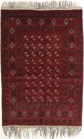 Afghan Khal Mohammadi Sag 132X182 Autentični Orijentalni Ručno Uzlan Tamnocrvena/Svjetlosiva (Vuna, Afganistan)