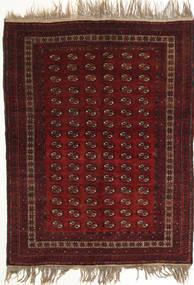 Afghan Khal Mohammadi Sag 134X180 Autentični Orijentalni Ručno Uzlan Tamnocrvena (Vuna, Afganistan)