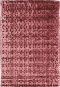 Diamond - Burgundy Sag 160X230 Moderni Tamnocrvena/Hrđavo Crvena ( Indija)