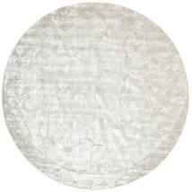 Crystal - Silver_White Sag Ø 250 Moderni Okrugli Svjetlosiva/Tamna Bež/Bež Veliki ( Indija)
