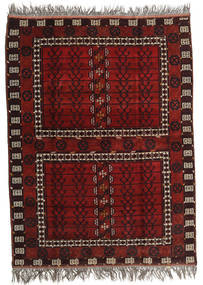 Afghan Khal Mohammadi Sag 167X221 Autentični Orijentalni Ručno Uzlan Tamnocrvena/Svjetlosiva (Vuna, Afganistan)