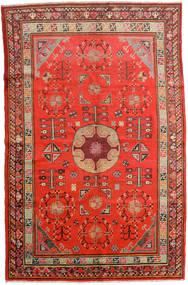 Samarkand Vintage Sag 161X250 Autentični Orijentalni Ručno Uzlan Hrđavo Crvena/Tamnocrvena (Vuna, Kina)