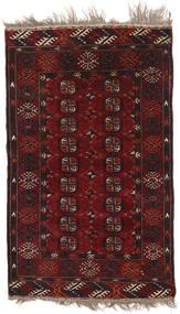 Afghan Khal Mohammadi Sag 92X153 Autentični Orijentalni Ručno Uzlan Tamnocrvena/Tamnosmeđa (Vuna, Afganistan)