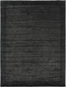 Handloom Frame - Crna/Tamnosiva Sag 300X400 Moderni Tamnosiva/Tamnozelena Veliki (Vuna, Indija)