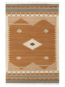 Tribal - Mustard Sag 160X230 Autentični  Moderni Ručno Tkani Smeđa/Svjetlosmeđa (Vuna, Indija)