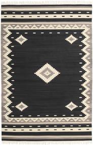 Tribal - Crna Sag 200X300 Autentični  Moderni Ručno Tkani Crna/Bež (Vuna, Indija)